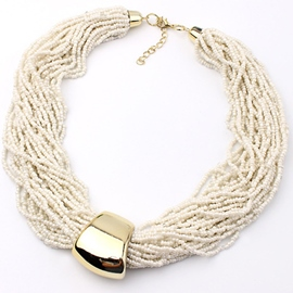 Multilayer Bohemia Beads Women's Necklace