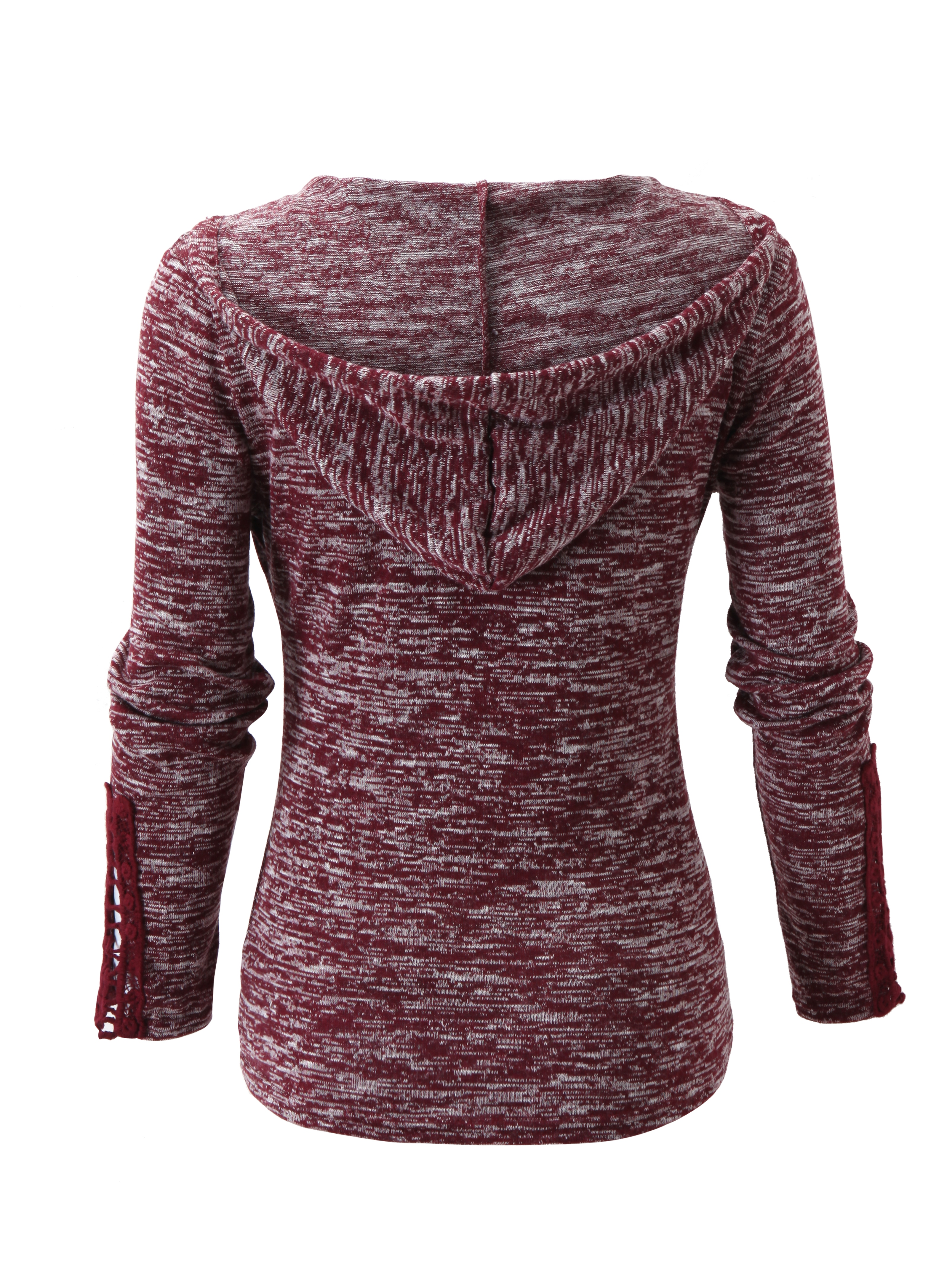 Ericdress Euro-American Style Hooded T-shirt