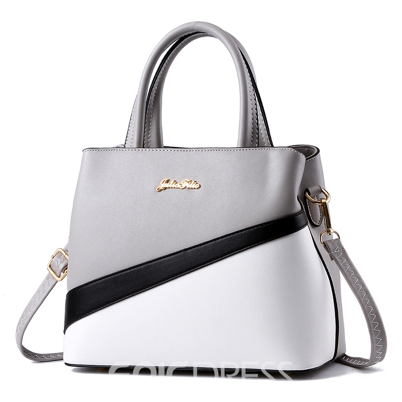 Ericdress Vogue Multifunction Color Block Handbag