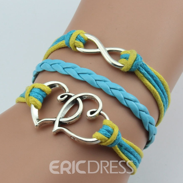 Multilayer Wax Rope Hand Woven Bracelet