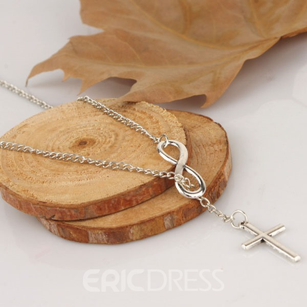 Cross Characters Necklace