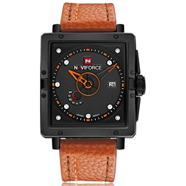 Ericdress quadratkalender men's watch