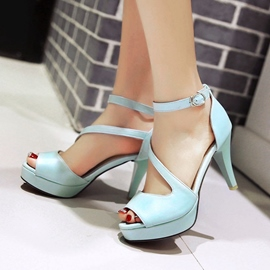 Ericdress New Fresh Peep Toe Stiletto Sandals