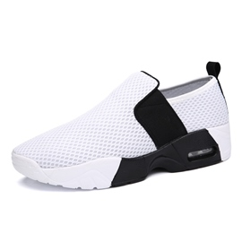 Zapatillas Slip-on Ericdress malla contraste Color masculino