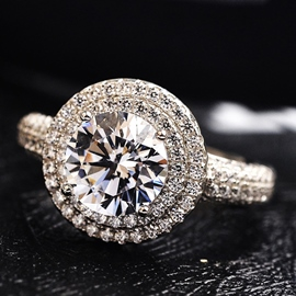 Luxury Atmosphere Girlfriends Ring