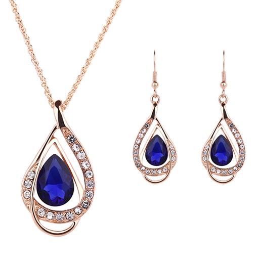 Ericdress Water Drop Gemmed Birthday Jewelry Sets