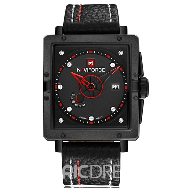 Ericdress Square Calendar Men's Watch