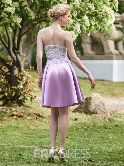 Ericdress Pretty Sweetheart A Line Short Bridesmaid Dress