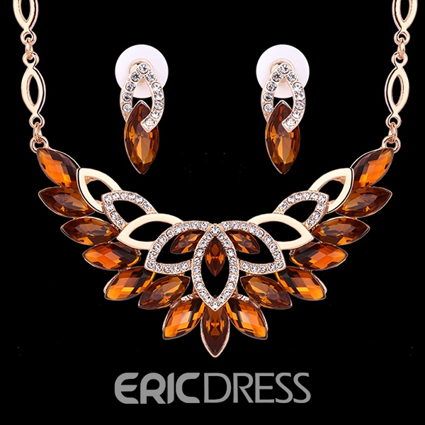 Ericdress Beautiful Rhinestone Inlaid Jewelry Set