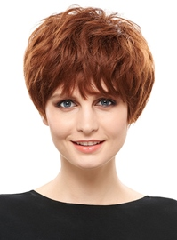 Ericdress Elegant Short Layered Synthetic Hair Capless Wig 6 Inches