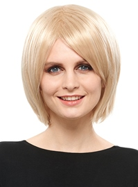 Ericdress Elegant Medium Capless Blonde 12 Inches Synthetic Hair Bob Wig