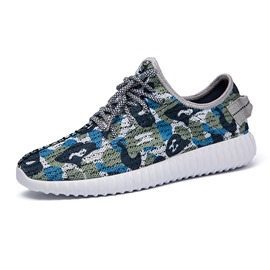 Ericdress Camouflage Round Toe Men's Sneakers