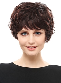 Ericdress Top Quality Natural Curly Short Synthetic Hair Capless Wig