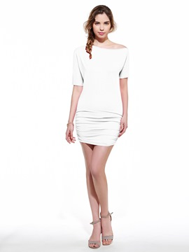 Ericdress Asymmetric Sexy & Clubwear Dress