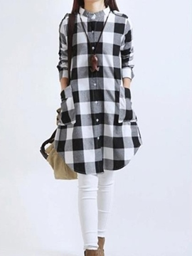 Ericdress Color Block T-shirt Casual Dress