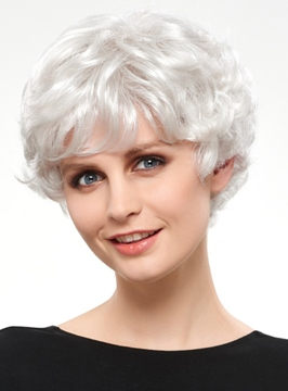 Ericdress Charming Short Wavy Synthetic Hair Capless Wig