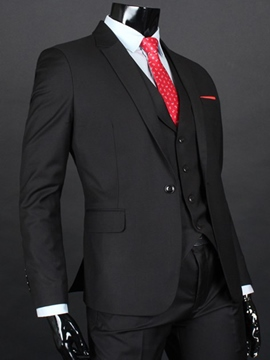 Ericdress Formal Three-Piece of Slim Men's Suit