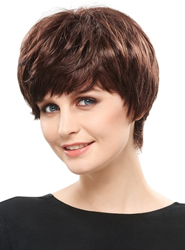 Ericdress Dynamic Short Straight Synthetic Hair Capless Wig