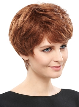 Ericdress Delicate Short Straight Synthetic Hair Capless Wig