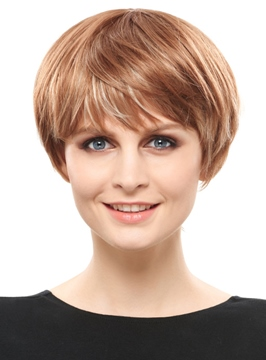 Ericdress Modern Short Straight Graceful Synthetic Hair Capless Wig