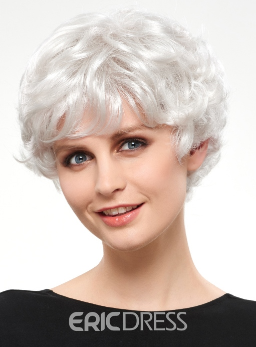 Ericdress Charming Short Wavy Synthetic Hair Capless Wig 12810220