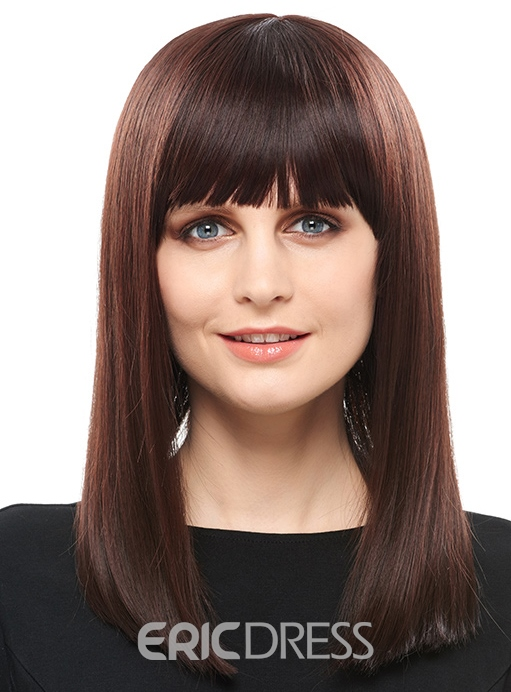 Ericdress Hot Sale Top Quality Long Straight Hair Capless Wig 16 Inches 12810211