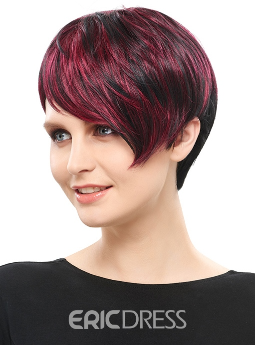 Ericdress Special Short Straight Synthetic Hair Capless Wig