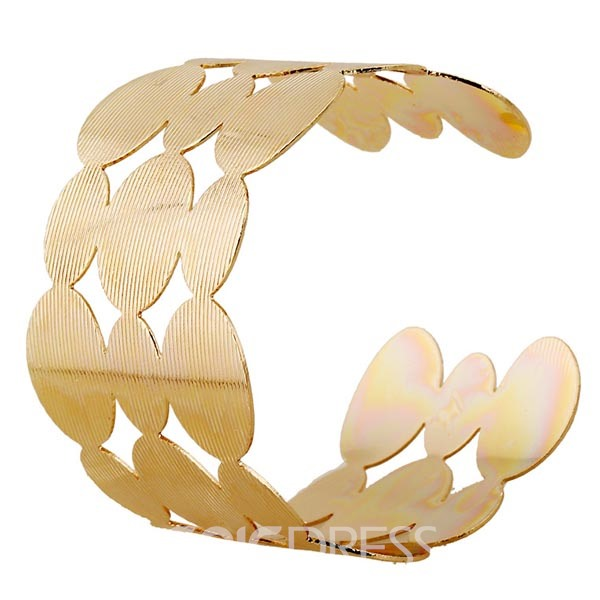 Bar Grain Geometry Alloy Bracelet