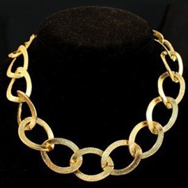 Grind Arenaceous Metal Chain Necklace