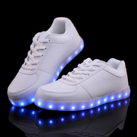 Ericdress Round Toe LED Men's Sneakers