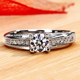 NSCD Diamond Engagement Ring