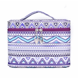 Ericdress Lovely Geometric Print Cosmetic Bag