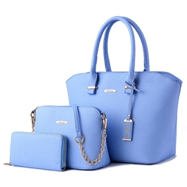 Ericdress Elegant Solid Color Handbags(3 Bags)