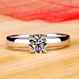 Simulation of Diamond Wedding Ring