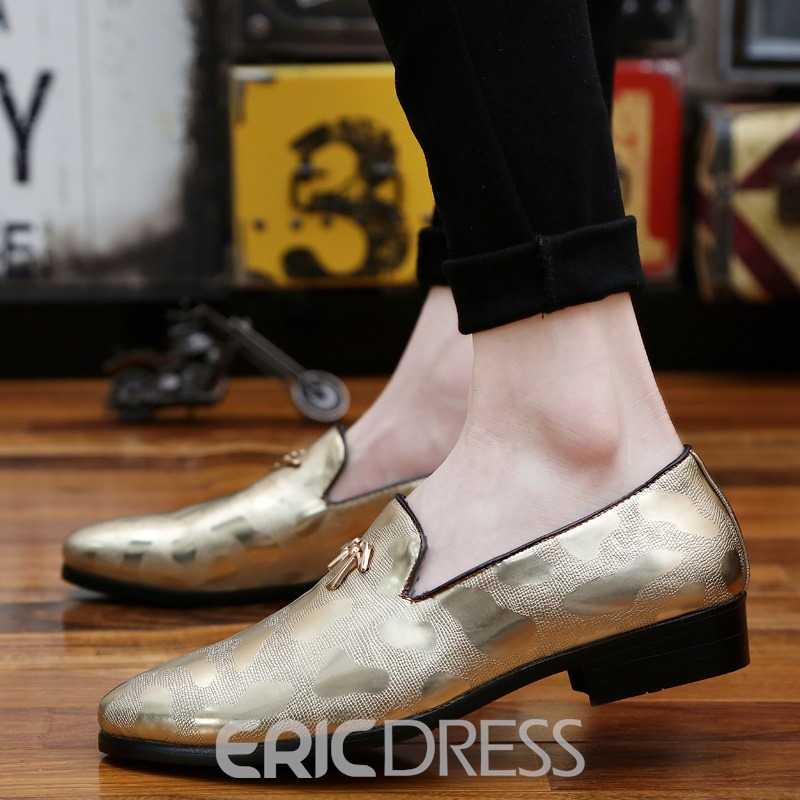 Ericdress Low Cut lacets Point Toe masculine