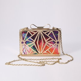 Ericdress Vogue Hollow Print Evening Clutch