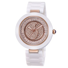 Ericdress Decent Diamante Ceramic Watch
