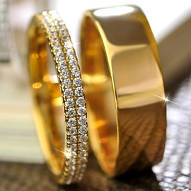 Ericdress Double Layers E-Plating All Matched Ring
