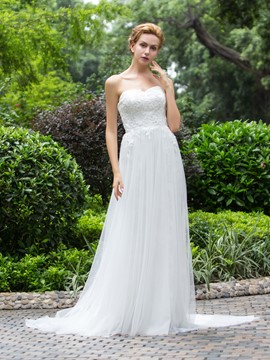 Ericdress Simple Sweetheat A Line Wedding Dress