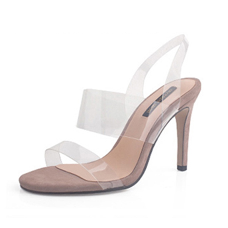 Ericdress Transparent Open Toe Mules Shoes