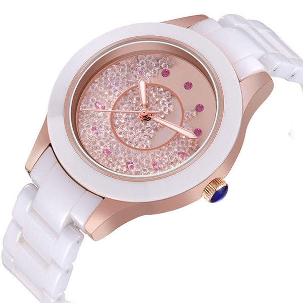 Ericdress JYY Simple Quicksand Decorated Ladies Watch