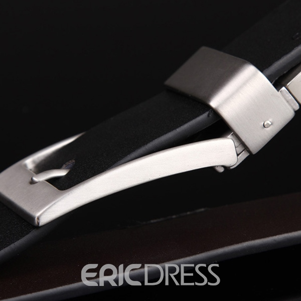 Ericdress Classic Twisted Pin Buckle Men's Belt