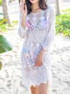 Ericdress Embroidery Beach Sun Protected Cover-Up