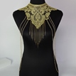 Ericdress Golden Lace Multilayer Tassels Body Chain