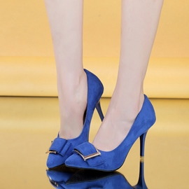 Ericdress Suede OL Point Toe Pumps
