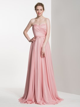 Ericdress Chic Sweetheart A Line Long Bridesmaid Dress