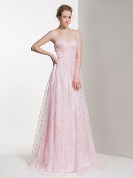 Ericdress Sweetheart Long Bridesmaid Dress