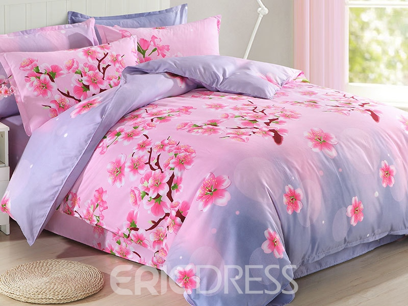 Ericdress Plum Blooming Cotton Bedding Sets 12186291