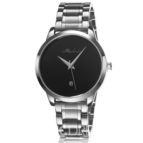 Ericdress Simple Steel Belt Quartz Watch