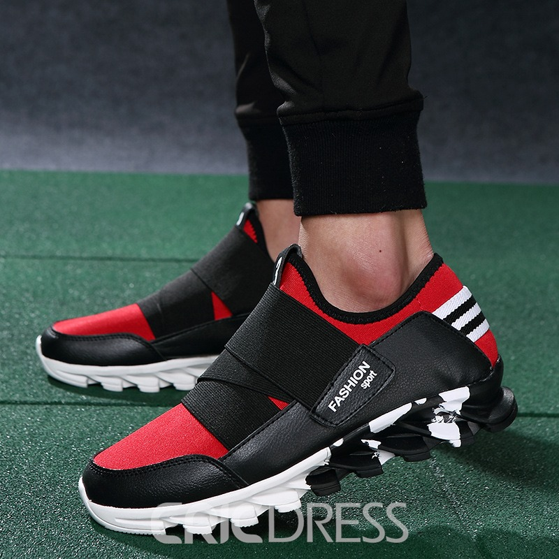 Ericdress Trendy Mesh Cut Out Men's Sneakers